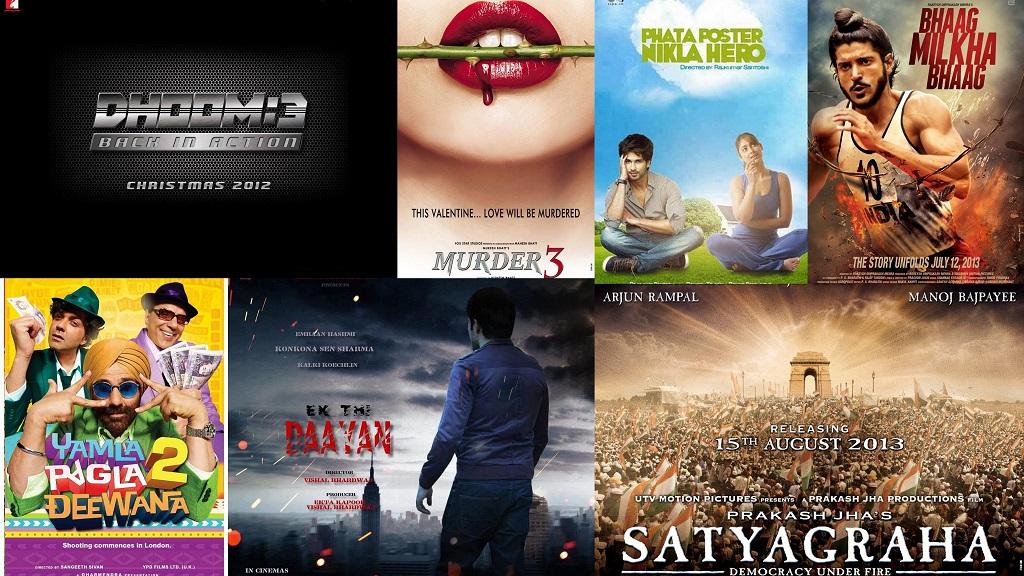 Upcoming Hindi Movies 2013 Trailers