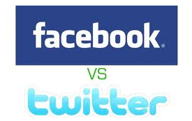 Facebook VS Twitter Celebrities