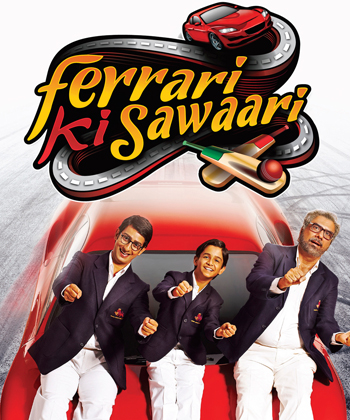 Ferrari Ki Sawaari movie on cricket
