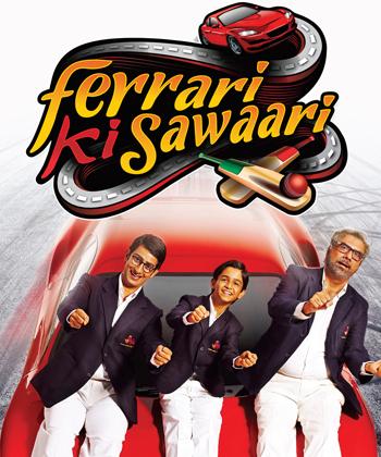 Ferrari Ki Sawaari movie on cricket