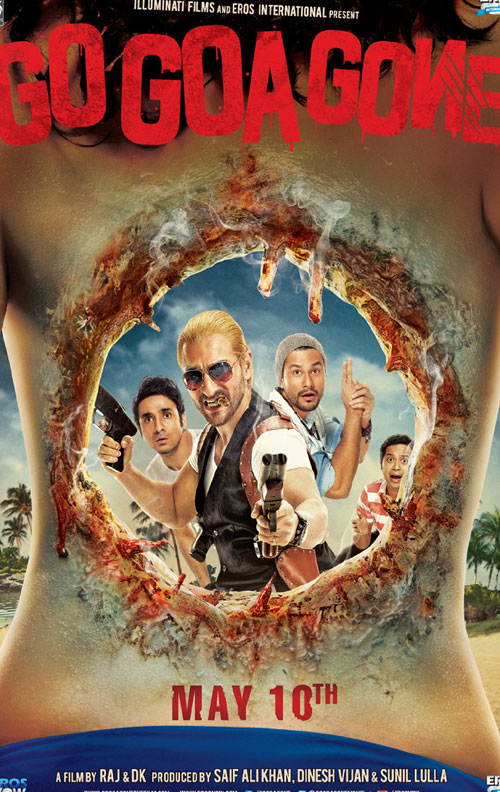 Go goa Gone Poster, banner Zombie Indian movie