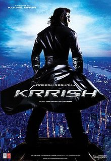 Krrish science fiction movie Best Science fiction Hindi Movie