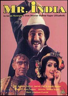 MR India Best Science fiction Hindi Movie