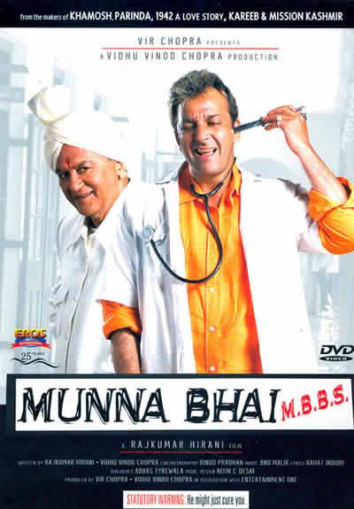 Munna Bhai Hindi movie poster