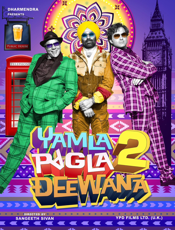 Yamla pagla deewana poster 2