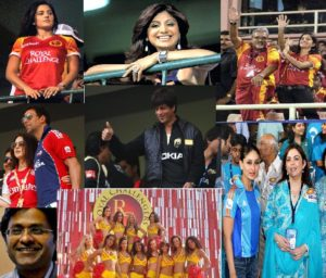 IPL Bollywood Connection