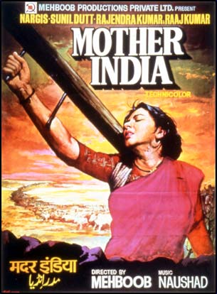 mother India Poster 1957 Movie Poster