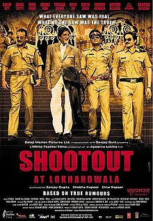 shotout at lokhandwala real movie poster