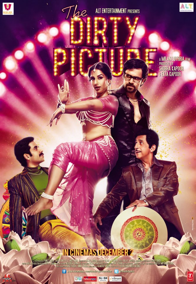 the dirty pictures poster