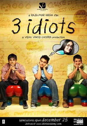 3 idiots movies on common man
