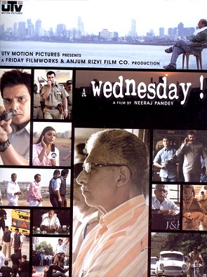 A_Wednesday Hindi movie on common man