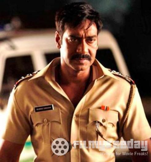 Ajay Devgan with mustache