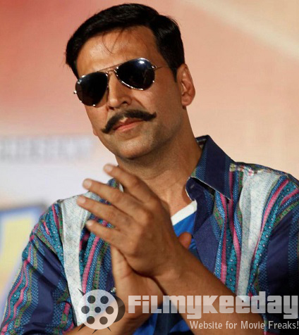 Akshay Kumar in Rowdy Rathore withmustache