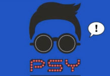 psy-gentleman-blue-art-single-cover