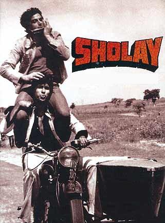 Sholay Hindi movie on friendship