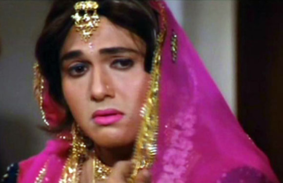 Govinda as a Girl or woman