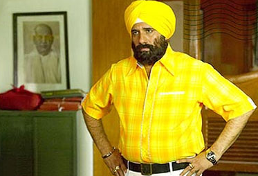 Boman Irani as Sikh in lage Raho Munna Bhai