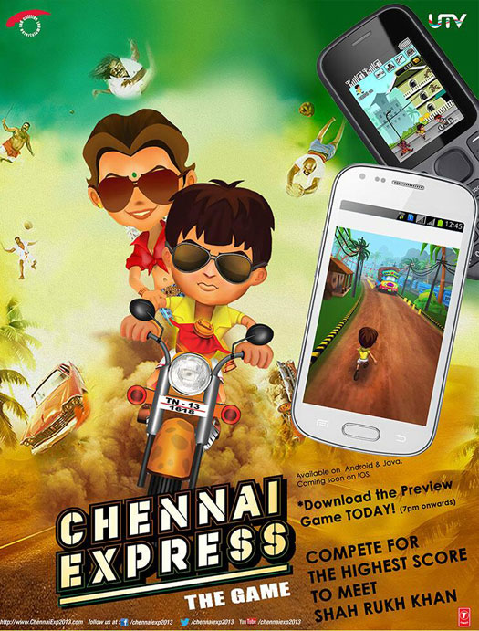 Chennai Express Game Download for Iphone and android