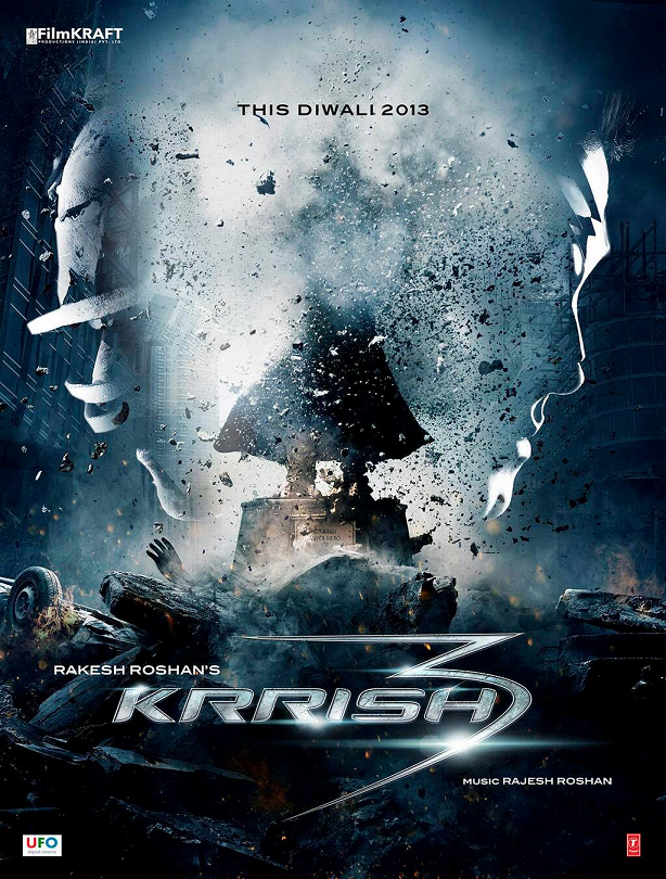 Krrish 3 Poster Trailer movie Review