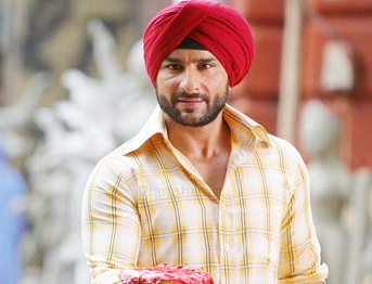 Saif Ali Khan as Sikh in Love Aaj Kal