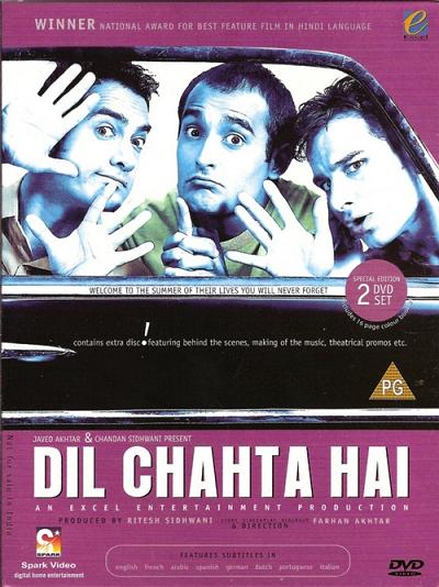 Dil Chahta Hai / 2001 / Hindistan / Mp4 / TR Altyazılı
