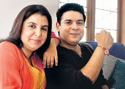 Farah and Sajid khan Brother sister duos