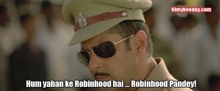 Hum yaha ke robin hood hai Salman Khan memes Dialogues