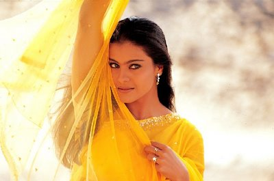 Kajol Happy birthday Saree Pic