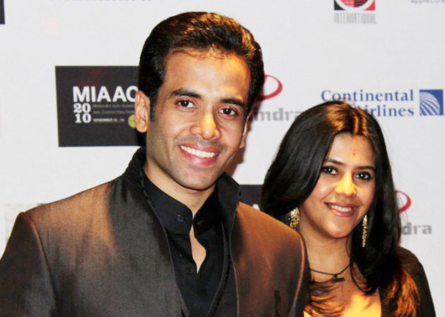 Tusshar and Ekta Kapoor Brother sister duos