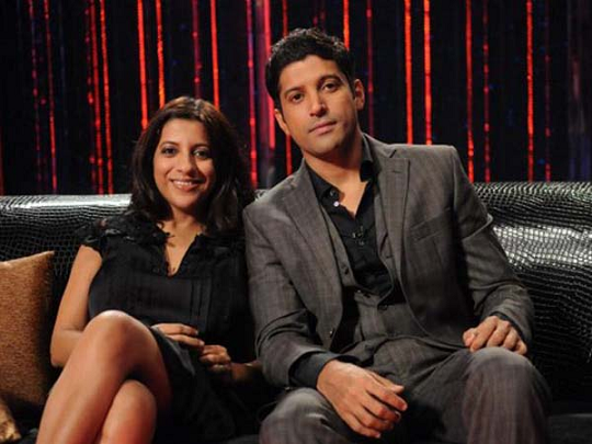 Zoya and Farhan Akhtar Brother sister duos
