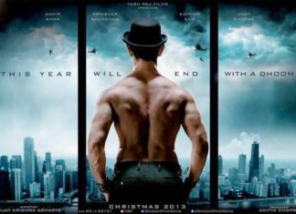 dhoom 3 first poster