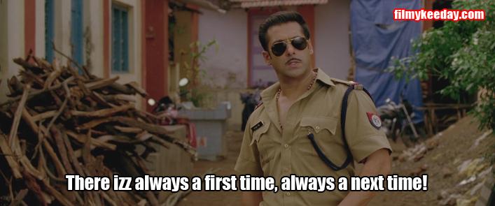 firt time next time Salman Khan memes Dialogues