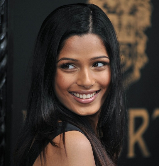 Freida Pinto Indian Actress in Hollywood