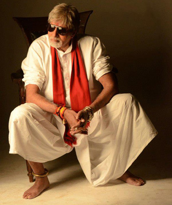 Amitabh Bachchan Department look
