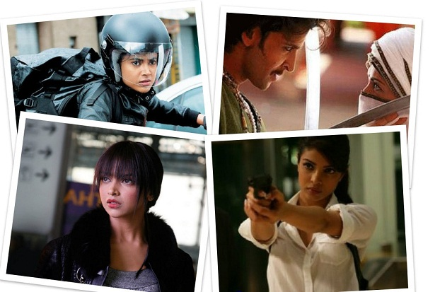 action girls of Bollywood