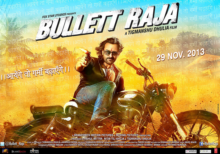 Bullet Raja Poster Ayenge to garmi Badhayenge
