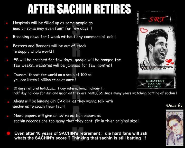 Cricket Without Sachin Tendulkar