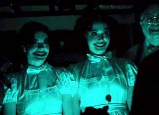 Insidious Horror Film Smiling family