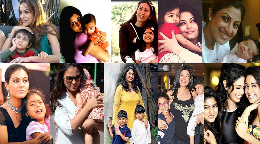 yummy mummies/ mothers of Bollywood