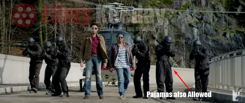 dhoom 3 Pajama Mistakes