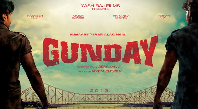 gunday 2014 Hindi movie poster