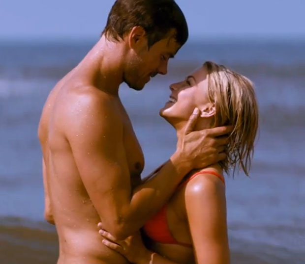 safe Haven hot scene 2013 movie romantic