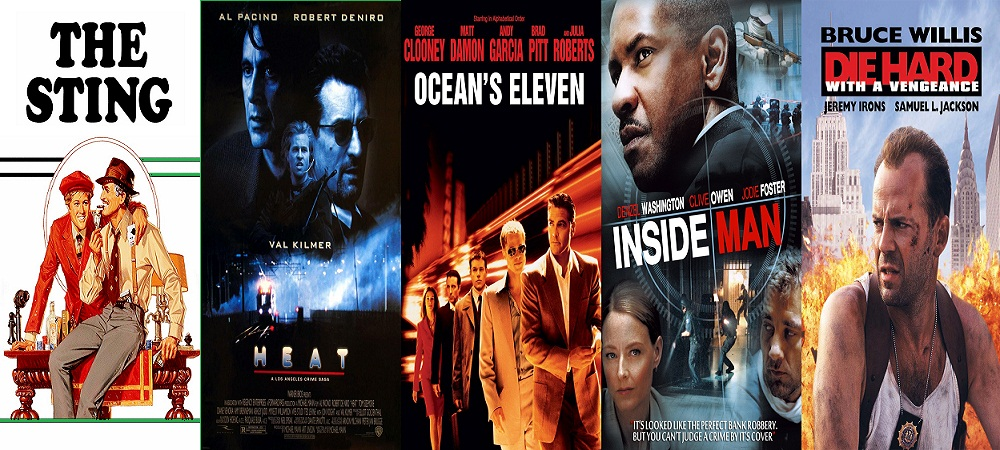 Hollywood heist Movies list