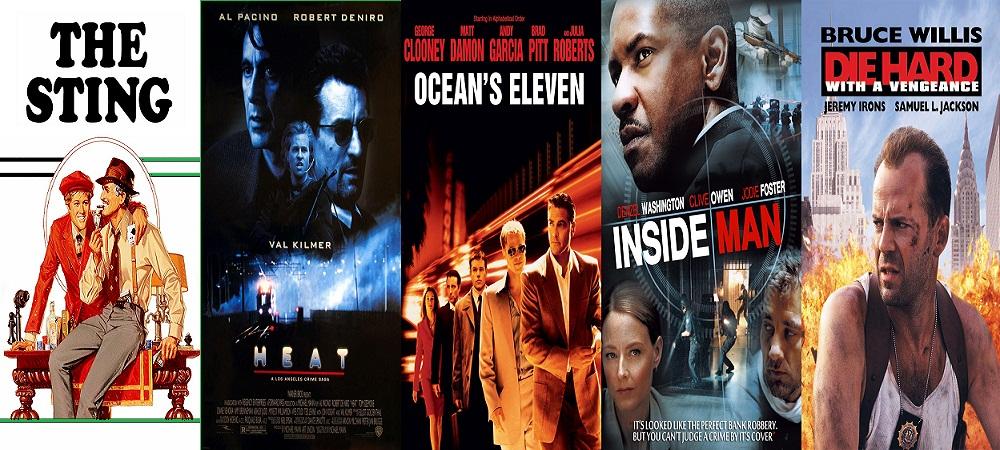 Hollywood heist Movies list