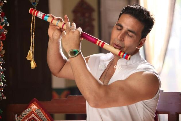Akshay as krishna in mahabharat