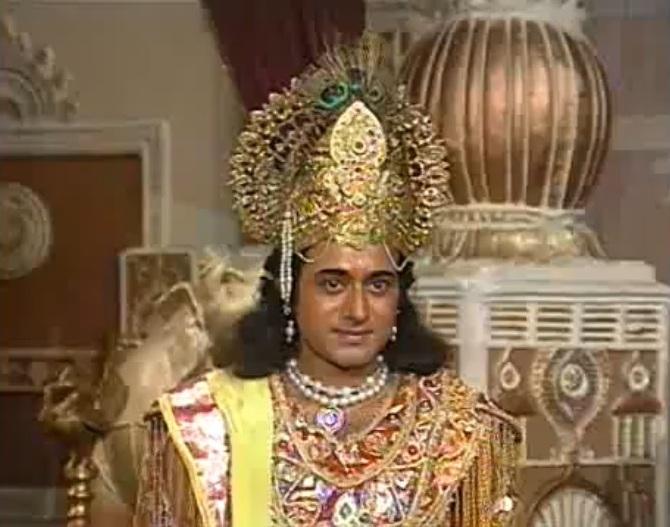 Krishna BR CHopra Mahabharat