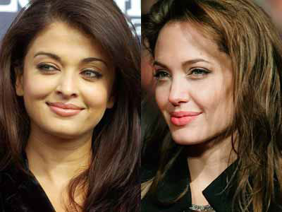 Aish Angleena Joilie Look alike