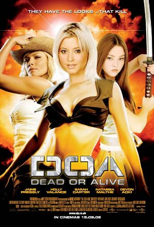 DOA Dead or Alive game and movie poster