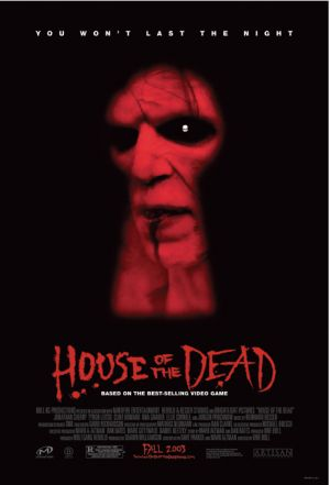 House of the Dead movie based on games