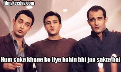 Dil chahta hai memes Dialogues